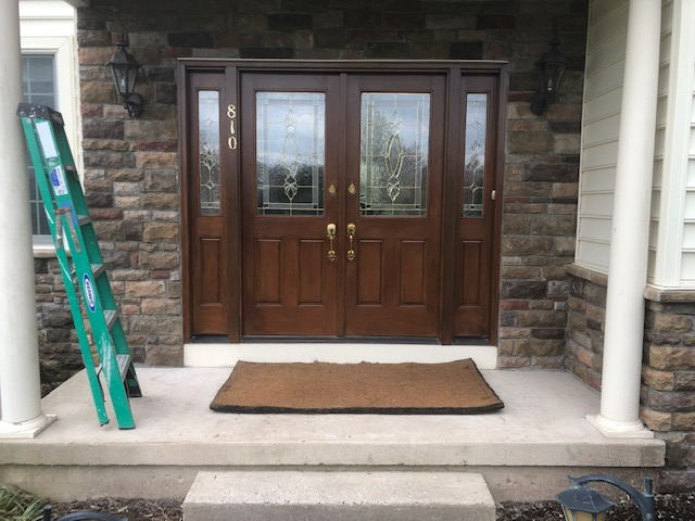 Cultured Stone Entry Way