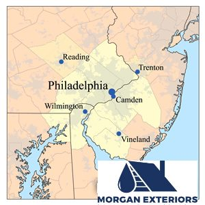 Morgan Exteriors Area Map